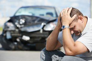 Driver Crashes Someone Else's Car